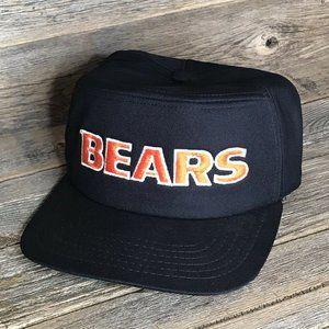 Chicago Bears Vintage Snapback Hat NFL Football